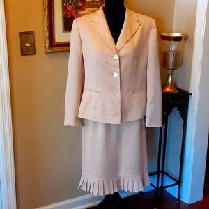 HOST PICK Le Suit Petite pink skirt jacket 14P EUC